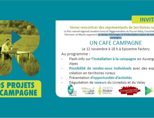 Café Campagne avec Envie d'R