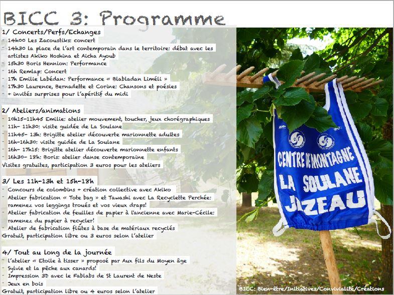programme soulane
