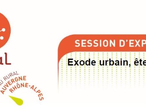 Webconférence: Exode urbain, êtes-vous prêts?