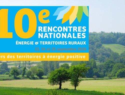 10e rencontres nationales «énergie et territoires ruraux» (TEPOS)