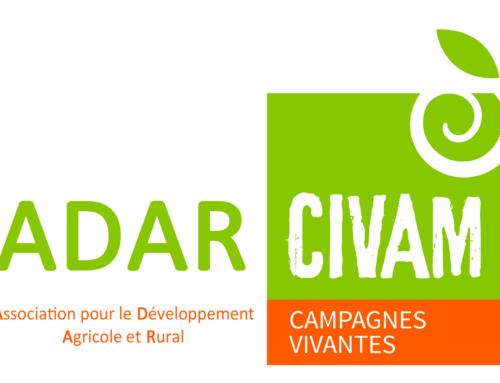 Offre d'emploi: L'Adar Civam (36) recrute un.e animateur.ice en développement agricole et rural